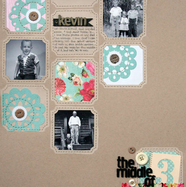 Middle of 3 {Studio Calico Dec Kit Club}