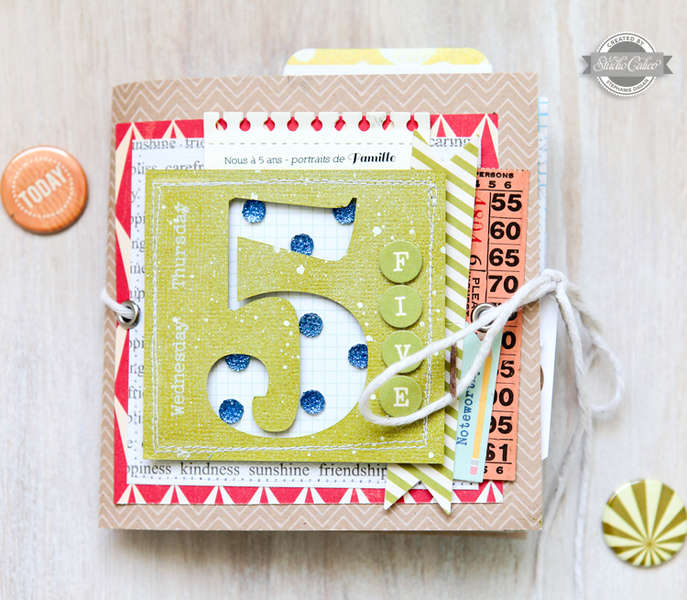 Five - Studio Calico July Kit -