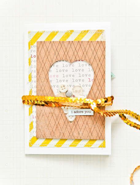 I Adore you - Studio Calico February Kit -