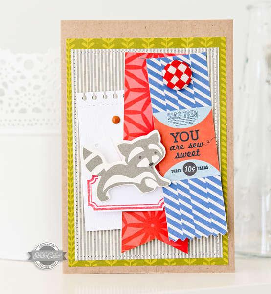 So sweet Card - Studio Calico August Kit -