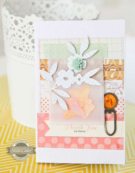 Thank You Card - Studio Calico June Kit -