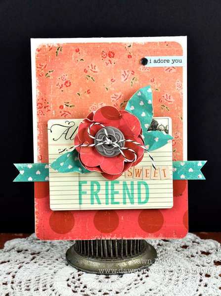 Studio Calico February Daydream Believer Kit - Sweet Friend