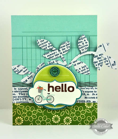Studio Calico August Summer of �69 Kit - Hello