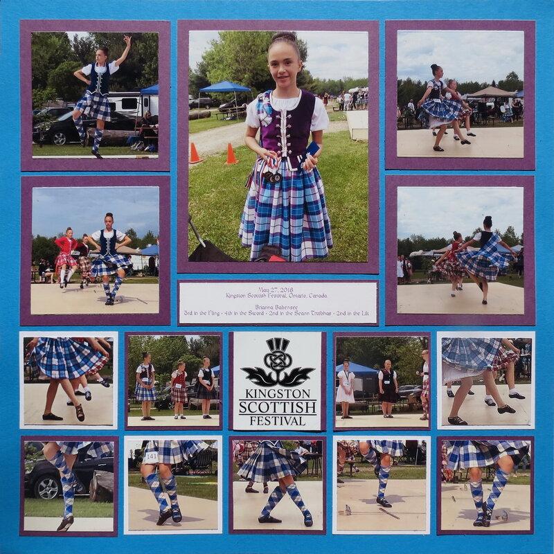 Brianna, Highland Dancer