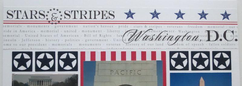 Stars & Stripes: White