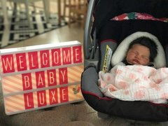 Welcome Baby Luxe