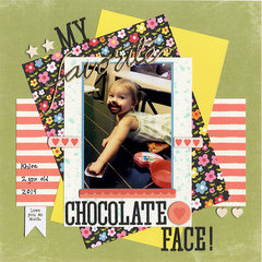 My favorite chocolate face!