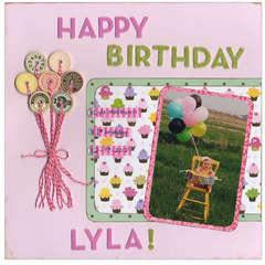 Lyla's 1st birthday