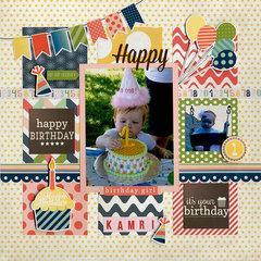 Happy Birthday Kamri