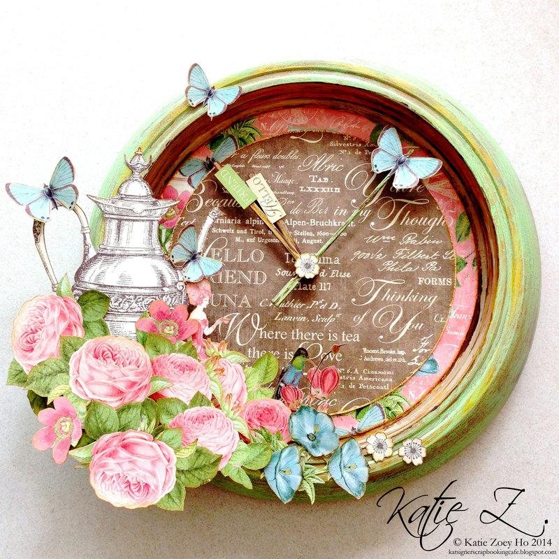 Botanical Tea Altered Clock