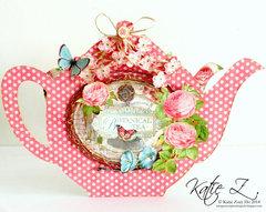 Botanical Teapot Wardrobe