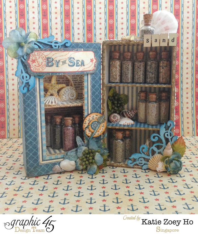 By the Sea Sand Collector's Box Shelves