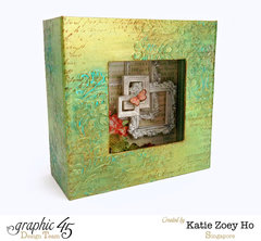 Patina Mixed Media Sentiments Box