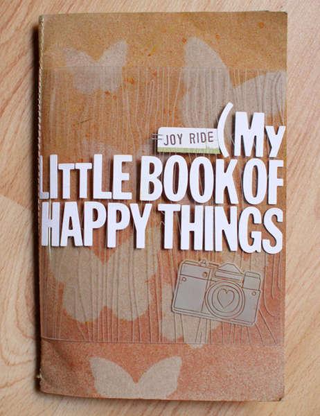 happy things mini album *studio calico october kit*