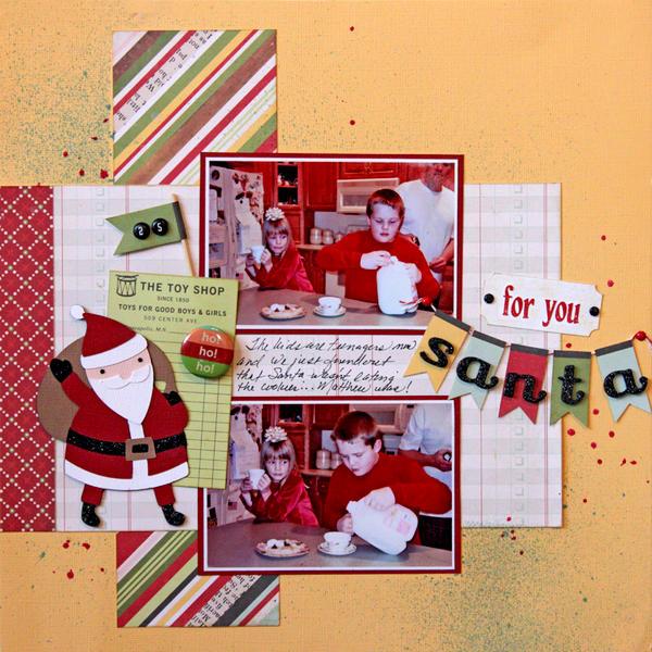 For You Santa *The ScrapRoom*