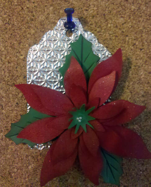 Poinsettia Tag