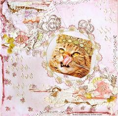Escape Kitty - Princess Snaggletooth -Scraps Of Elegance