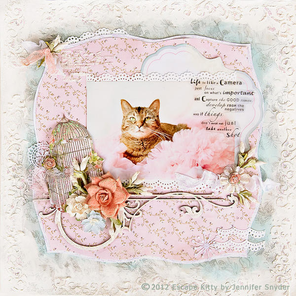 Escape Kitty - Soft Frilly Life - Scraps of Elegance