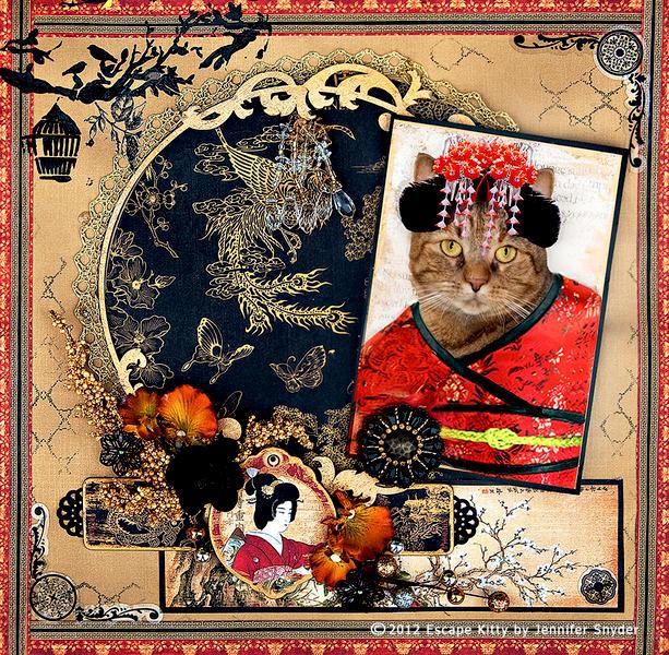 Escape Kitty - Geisha Kitty -Scraps Of Darkness