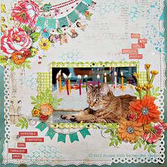 Escape Kitty's Birthday Celebration - Scraps of Elegance