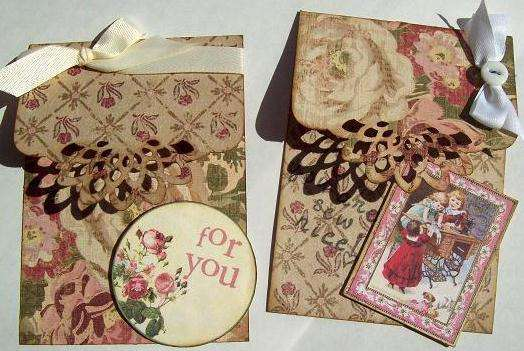 2 simple Thank You tags