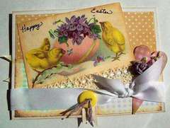 Easter Chicks ~ Card