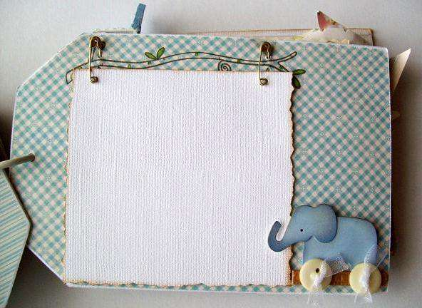 pg 6 mini  baby album( oops, out of order!)