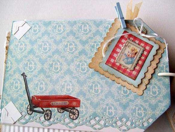 pg 9 mini baby album