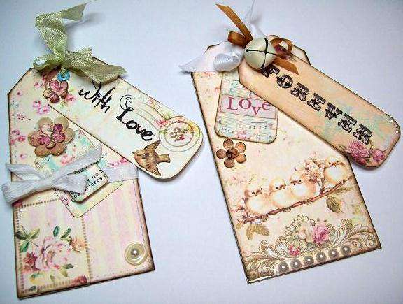 2 Thank You Tag cards