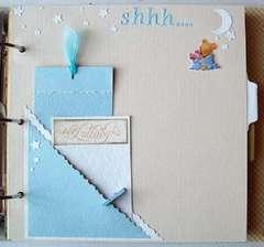 nite-nite page Winnie The Pooh scrapbook