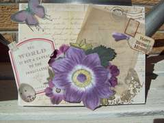 Happy Birthday Mother - nature card~