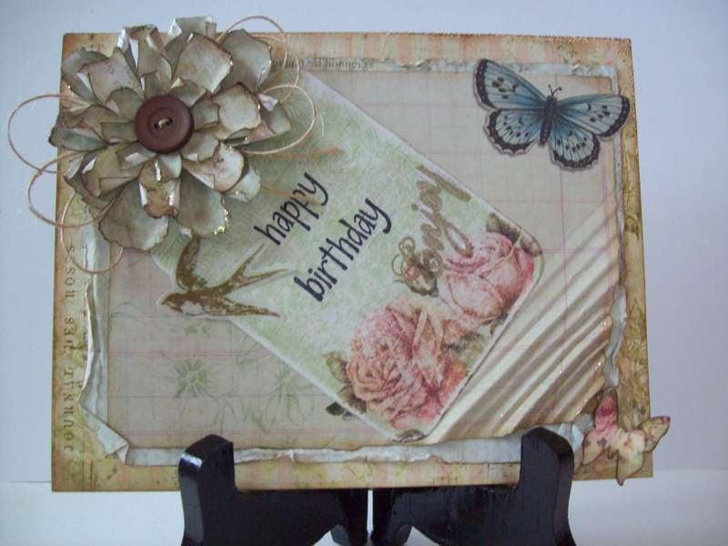 vintagey ~Birthday Card~