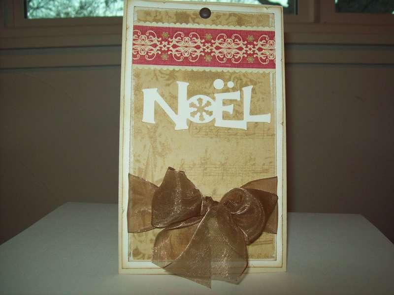 """a simple """"NOEL"""""""
