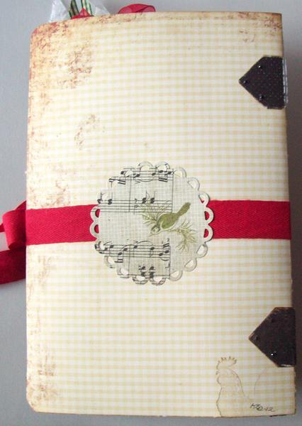 bk of (file folder) Christmas  album