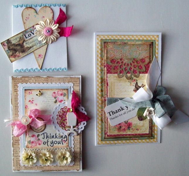 3 set of cards