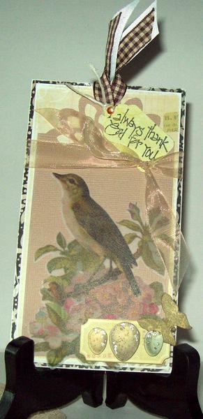 Bird  Tag  (bad lighting  oops : l