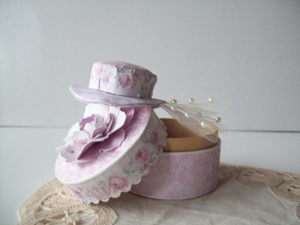 Hat for the hat box ~