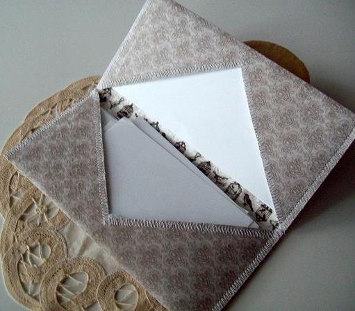 Vintage style   Paper Case  -open