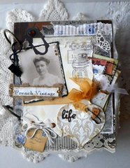 Journal Cover French Vintage life ~