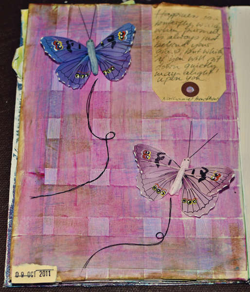Art Journaling - 10.09.11