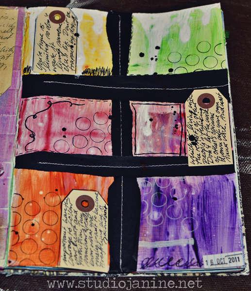 Art Journaling - 10.16.11