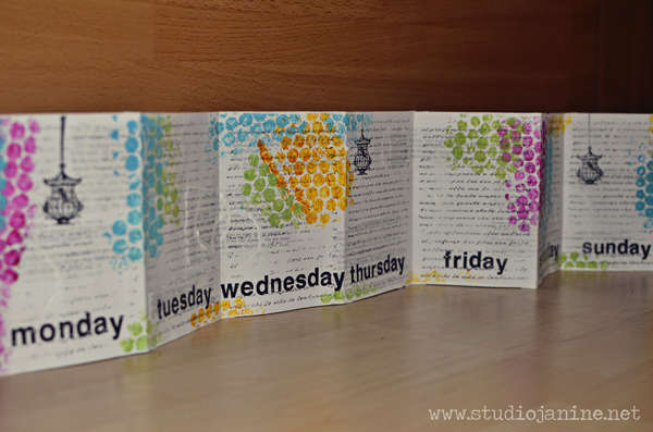 Weekly Inspiration - Days of the Week