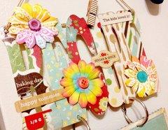Recipe Cards Hanger + Fridge Magnet