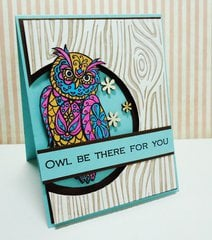 Owl Be There For You Card