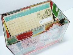 Recipe Cards Box