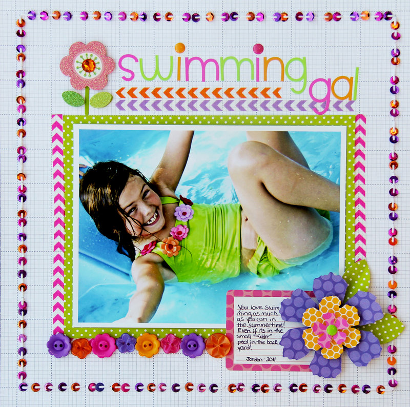 Swimming Gal