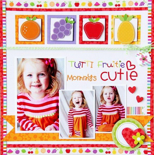 Tuttie Fruittie, Mommy's Cutie