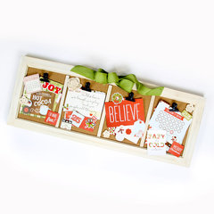 Home Decor Frame featuring Simple Stories Classic Christmas Collection