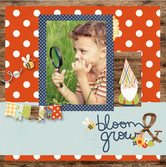 NEW! Simple Stories Bloom & Grow