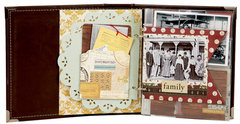Simple Stories Legacy 6x8 Faux Leather Binder